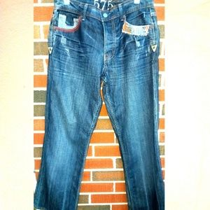 575 men's jeans size 30 made in L.A. embroidery